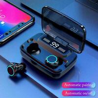 TWS Bluetooth 5.0 Headset Mini True Wireless Headphones In-Ear Earbuds Earphones