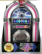 "70's Rock ""N"" Roll Juke Box Musical & Illuminated Centerpiece New in Box"