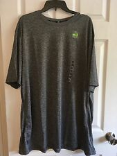 Men's TEK GEAR Training Dry TEK Tee Gray Polyester SZ 4XL Big & Tall NWT