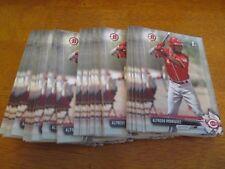 Lot (62) Card #BP62 ALFREDO RODRIGUEZ Reds 2017 Bowman Baseball base cards