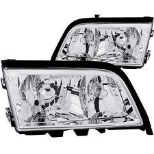 Headlight Set-Crystal ANZO 121081