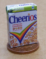 1:12 Scale Empty Cheerio Cereals Packet Dolls House Miniature Food Accessory