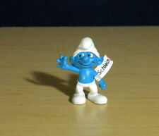 Smurfs Clumsy Smurf 2011 3D Movie Figure Schleich Toy Miniature Vintage 20730