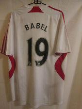 Liverpool 2007-2008 Away Babel Football Shirt Size Medium /14791