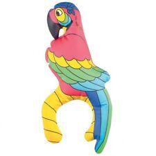 28cm Inflatable Shoulder PARROT Bird Fancy Dress Accessory Hawaiian Beach Party