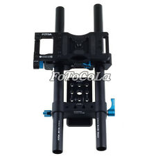 FOTGA Upgraded DP500IIS DSLR 15mm rod rail cheese baseplate rig for follow focus