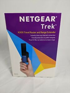 NETGEAR Trek N300 PR2000 Travel Router and Range Extender.