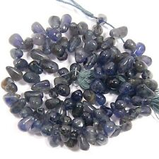 113 CTS AAA 100% NATURAL SUPERB IOLITE  S-5 TO 7 MM LOOSE GEMSTONE BEADS 13""