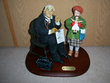 Vtg Clothtique Norman Rockwell Saturday Evening Post Figurine ~In Original Box~