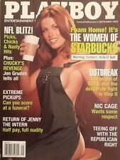 "Playboy Magazine ""The Women Of Starbucks"" Vintage Issue September 2003"