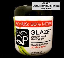 ELASTA QP GLAZE CONDITIONING SHINING GEL SHINES AND DEFINES 6oz