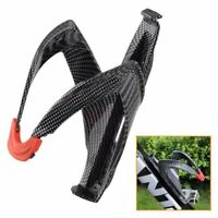 1X Carbon Fiber Road Bicycle Bike Cycling Water Bottle Drinks Holder Rack Cage