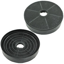 2 x BAUMATIC Oven Cooker Hood Vent Filters Round Carbon Charcoal F90.2BL F1002SS