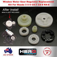 6PCS Window Regulator Motor Repair kit For Mazda 3 5 6 CX7 CX9 RX8New