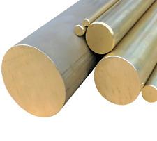 10cm Messing Rundstange Ms58 /Ø 10mm L: 100mm Messingstange auf Zuschnitt