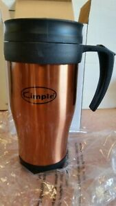 NEW in box KIMPLE stainless steel travel mug