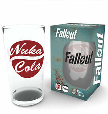 Fallout 4 Nuka Cola Glass | Official Gaming Merchandise New