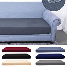 1/2/3/4 Seats Cushion Cover Stretchy Waterproof Slipcovers Protector Sofa Seat