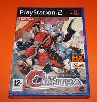 New Neo Contra Videogame Videogioco Gioco per Console Sony PlayStation 2 PS2