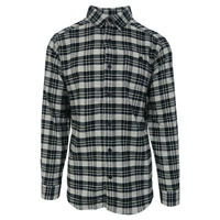Columbia Men's Black Cream Cornell Woods L/S Flannel (Retail $60)