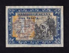 F.C. 1 PESETA JUNIO 1940 , SERIE A , S/C- , PICO DOBLADO , MANCHA EN ESQUINA .
