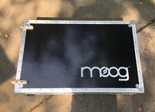 Moog Voyager Ata Flight Case - Heavy Duty Travel Dolly Case with Wheels Lock