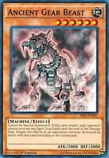 3X Ancient Gear Beast-Common-SR03-EN007-NM-Yugioh Machine Reactor Structure Deck