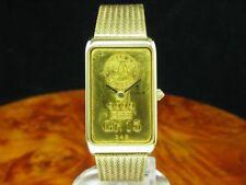Corum 18kt 750 Gold Handaufzug Herrenuhr 15g 999 Feingold Barren / Ref 55400P58