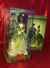 Disney Store Fairytale Designer Doll PRINCESS Tiana  Naveen Limited Edition LE