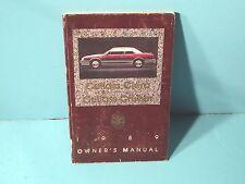 89 1989 Oldsmobile Cutlass Ciera/Cutlass Cruiser owners manual