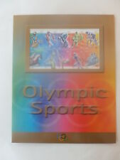 Australia 2000 : Olympic Sports, Sheetlet of 10 x 45c Stamps Sealed Display