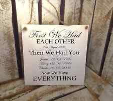 035 19 x 19 en bois famille signe famille amour arbre familial entièrement personnalisé
