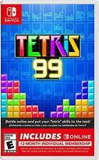 Tetris 99 + 12 Month Nintendo Switch Online Membership (Nintendo Switch)