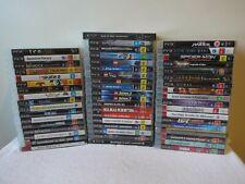 ⭐ WINTER SALE ⭐ 60 PS3 games, all VGC - Dropdown menu Playstation 3 bundle lot
