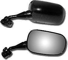 Replacement Mirror Left-Carbon Fiber Emgo 20-87034 For Honda CBR929RR CBR954RR