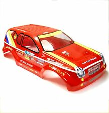30220 Off Road Nitro RC 1/8 Scale Monster Truck Car Body Shell Cover Red