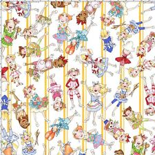 Loralie Designs ApronEsque Apronettes Fabric Cotton White Bkgrd Sold By The Yard