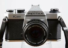 Pentax K1000 w/50mm F2.0 Pentax Lens, Just Refurbished, New Seals Etc! Guarantee