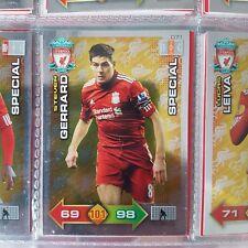 Adrenalyn xl 2011/2012 Liverpool fc special card Steven gerrard