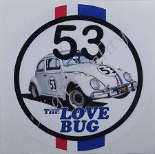 10 Aufkleber 5cm Modellbau Tattoo 53 Nummer Herbie Auto Käfer Modell Deko Folie