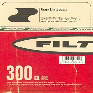 Short Bus - Music CD - Filter -  1995-04-14 - Reprise - Very Good - Audio CD - 1