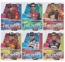 2006 Press Pass VELOCITY Complete 9 card set BV$40!! Johnson, Gordon, Dale Jr.,