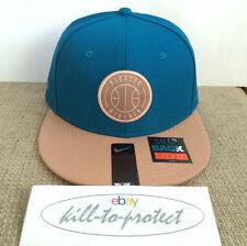 Pigalle x NIKE béisbol Snap Back Cap Azul Colección Baloncesto Negro QT 2015