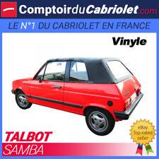 Capote Talbot Samba cabriolet en Vinyle