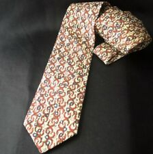 HERMES For LIBERTY Of London Horseshoes Cotton Tie