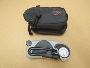 Cyclaire Bicycle Rapid Pump Hand Pull With Carrying Case Presta + Schrader Valve