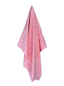 RED Turkish Linen Bath and Beach Towel - GET 20% OFF