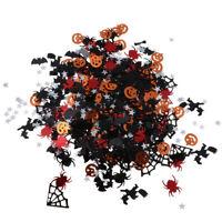 Black Orange Mixed Halloween Confetti Table Sprinkles Party Decor 15g
