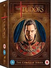 Tudors Complete Series Dvd Season 1 2 3 4 Brand New And Sealed Uk R2 Release
