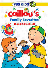 Caillou - Caillou's Family Favorites (DVD, 2014, With Book)